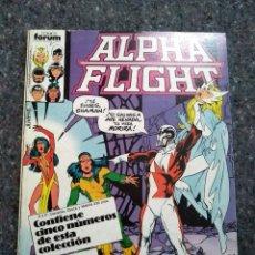 Cómics: ALPHA FLIGHT NºS 27 28 29 30 Y 31 - CON LA MASA - JOHN BYRNE. Lote 170235936