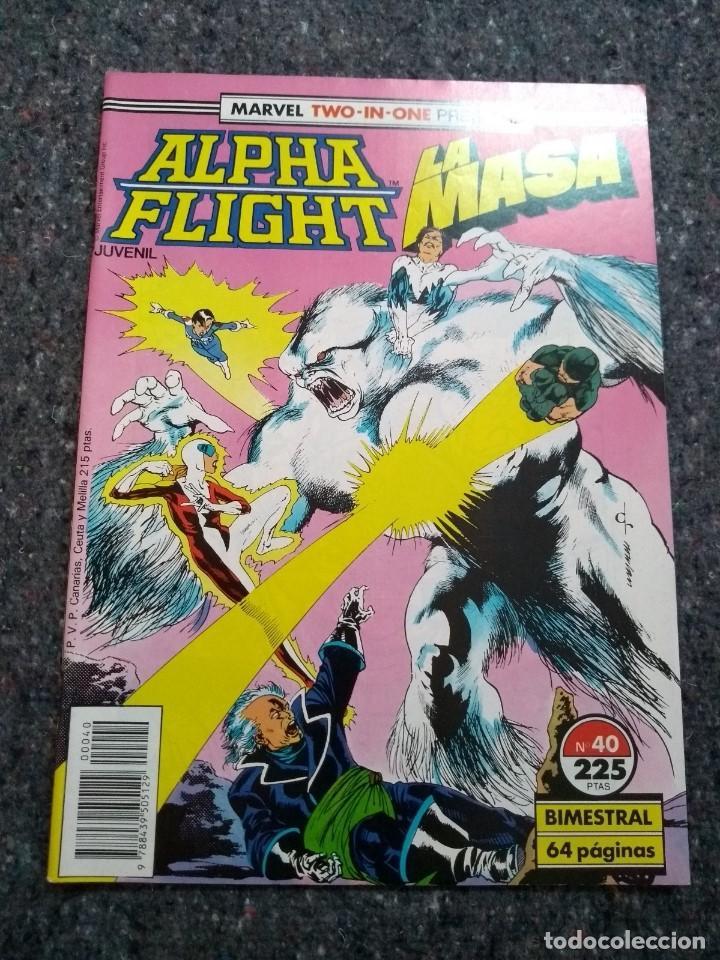 ALPHA FLIGHT & LA MASA Nº 40 - MUY BUEN ESTADO (Tebeos y Comics - Forum - Alpha Flight)