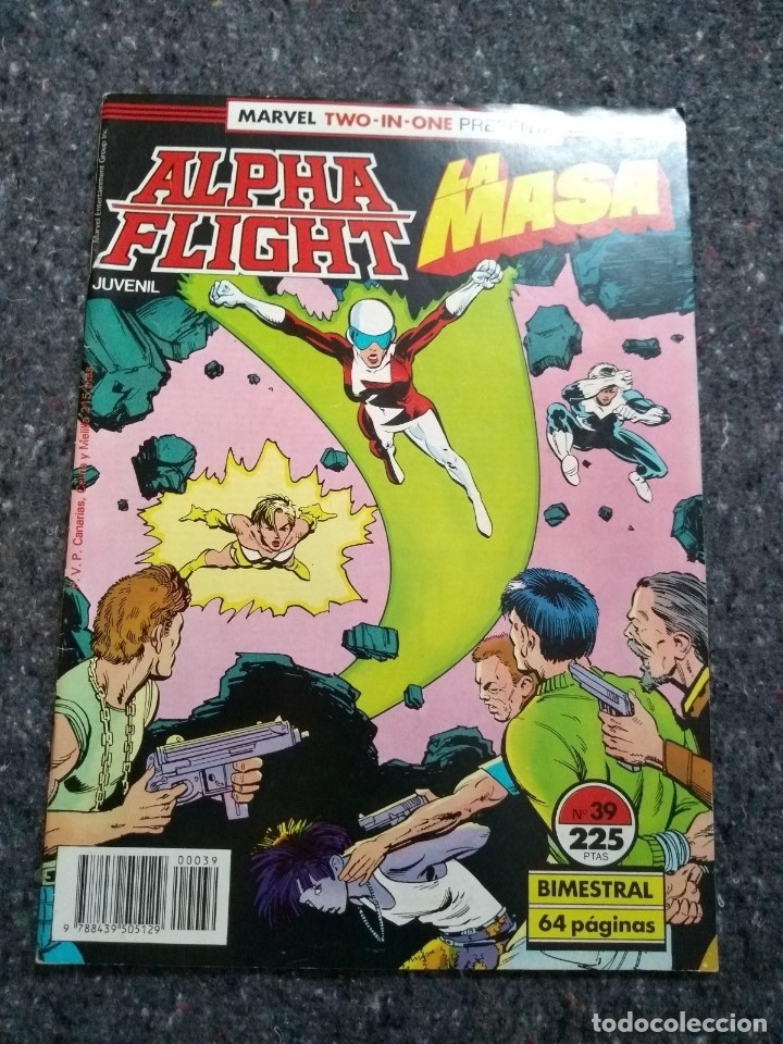 ALPHA FLIGHT & LA MASA Nº 39 - MUY BUEN ESTADO (Tebeos y Comics - Forum - Alpha Flight)