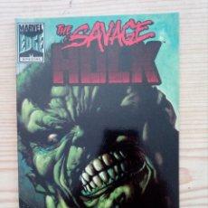 Cómics: THE SAVAGE HULK - FORUM. Lote 170285424