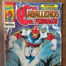 Cómics: LOS CABALLEROS DE PENDRAGON Nº 5 - FORUM MARVEL COMICS- CAPITAN BRITANIA. Lote 170286900