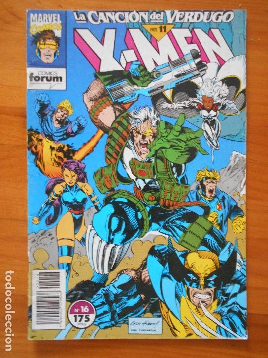 X-MEN VOLUMEN 1 - Nº 16 - LA CANCION DEL VERDUGO PARTE 11 - MARVEL - FORUM (GC) (Tebeos y Comics - Forum - X-Men)