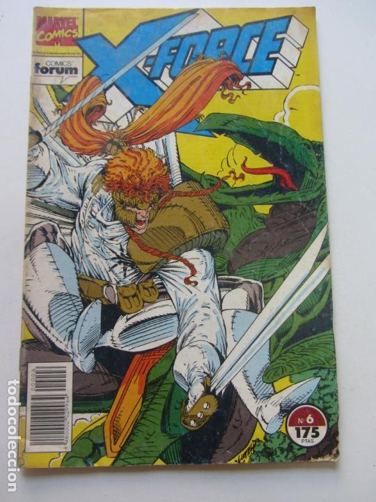 X-FORCE VOL. 1 Nº 6 FORUM CS180 (Tebeos y Comics - Forum - X-Men)