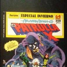 Cómics: PATRULLA X ESPECIAL INVIERNO 1989 MUY BUEN ESTADO. Lote 170483768