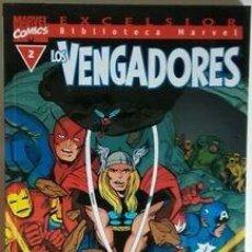 Cómics: BIBLIOTECA MARVEL LOS VENGADORES, NÚMERO 2 BM: LOS VENGADORES #2. Lote 170491836