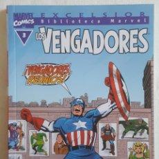 Cómics: BIBLIOTECA MARVEL LOS VENGADORES, NÚMERO 3 BM: LOS VENGADORES #3. Lote 170491984