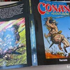 Cómics: COMICS: CONAN EL AVENTURERO. OBRA COMPLETA. Lote 170527828