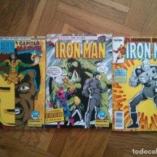 Cómics: IRON MAN, CAPITAN MARVEL COMICS LOTE. Lote 170869050