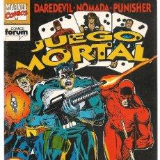 Comics: JUEGO MORTAL. Nº 9 (DE 9). FORUM. (ST/B2.2). Lote 170872285