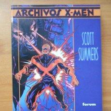 Cómics: ARCHIVOS X-MEN SCOTT SUMMERS - CHRIS CLAREMONT - MARVEL - FORUM (8B). Lote 170939760