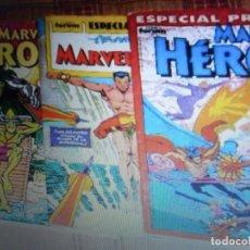 Cómics: FORUM. LOTE DE 4 ESPECIAL EXTRA DE MARVEL HÉROES CON OTRO DE REGALO.. Lote 17213783