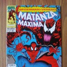 Cómics: SPIDERMAN VENENO MATANZA MÁXIMA Nº 1 (FORUM) MARVEL. Lote 170969573