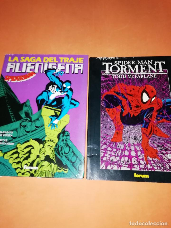 SPIDERMAN . OBRAS MAESTRAS Nº 5 Y 16 . TORMENTO Y LA SAGA DEL TRAJE ALIENIGENA. (Tebeos y Comics - Forum - Spiderman)