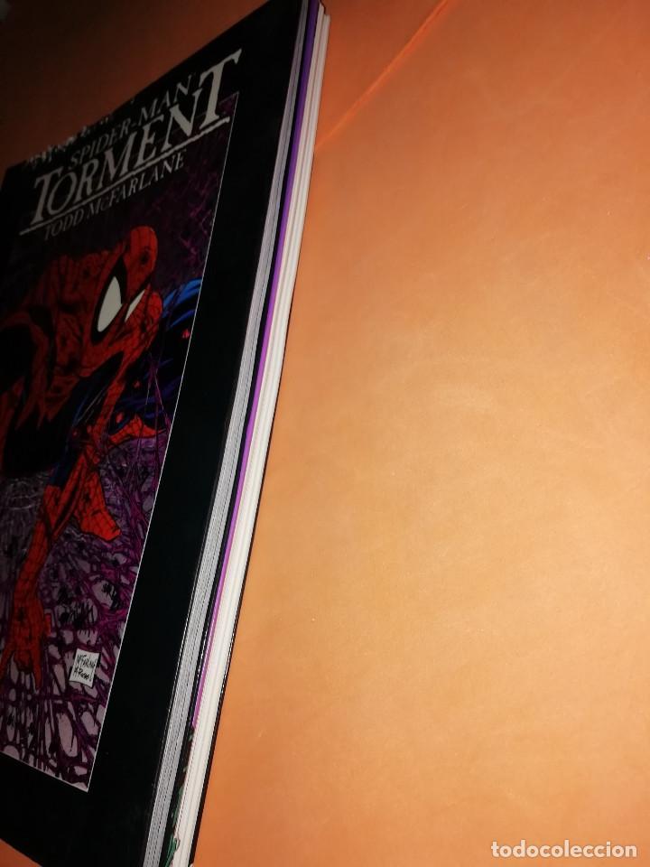 Cómics: SPIDERMAN . OBRAS MAESTRAS Nº 5 Y 16 . TORMENTO Y LA SAGA DEL TRAJE ALIENIGENA. - Foto 4 - 171009678