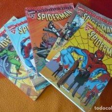Cómics: SPIDERMAN BIBLIOTECA MARVEL 26, 27, 28, 29 Y 30 ( ROMITA WOLFMAN ) ¡MUY BUEN ESTADO! FORUM EXCELSIOR. Lote 171041934