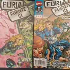 Cómics: FURIA & AGENTE 13 (OBRA COMPLETA 2 Nº) - FORUM. Lote 171055368