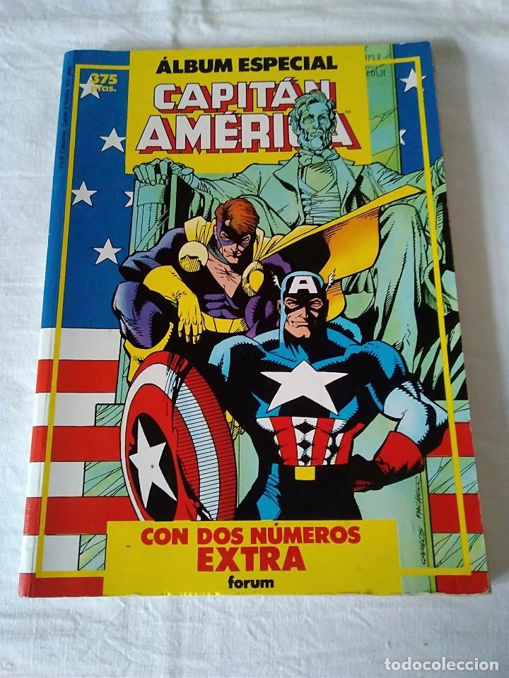 42-ALBUM ESPECIAL CAPITAN AMERICA, FORUM, 1987 (Tebeos y Comics - Forum - Capitán América)