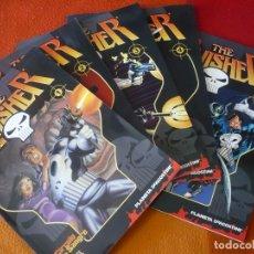 Comics: THE PUNISHER COLECCIONABLE 1, 2, 3, 4 Y 5 ( BARON ) ¡MUY BUEN ESTADO! FORUM MARVEL EL CASTIGADOR. Lote 171075314