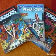 Cómics: LOS VENGADORES NºS 2, 3 Y 4 BIBLIOTECA MARVEL ( LEE KIRBY HECK ) ¡BUEN ESTADO! FORUM. Lote 171075524