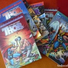 Cómics: THOR BIBLIOTECA MARVEL NºS 6, 7, 8, 9, 10 Y 11 ( STAN LEE KIRBY ) ¡MUY BUEN ESTADO! FORUM EXCELSIOR. Lote 171154684