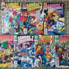 Cómics: THOR. SANGRE Y TRUENOS SERIE LIMITADA 7 COMICS. COMICS FORUM 1994. Lote 171197838