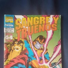 Cómics: THOR: SANGRE Y TRUENOS Nº6 - FORUM. Lote 171257584