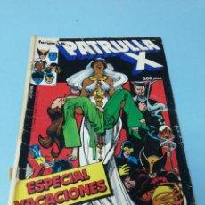 Cómics: PATRULLA X. ESPECIAL VACACIONES . Lote 171313068