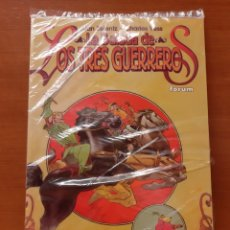 Cómics: LA BALADA DE LOS TRES GUERREROS ALAN ZELENTZ CHARLES VESS ¡IMPECABLE!. Lote 171354928
