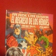 Cómics: HEROES REBORN EL REGRESO DE LOS HEROES - P. DAVID & S. LARROCA - PRESTIGE. Lote 171376707