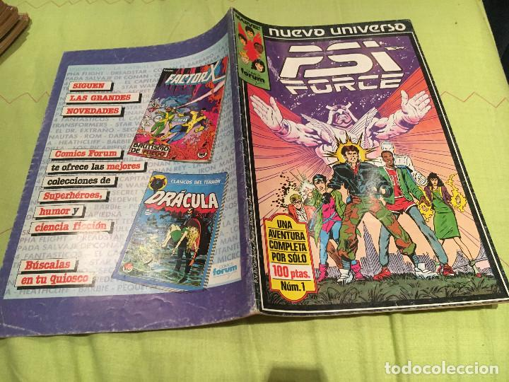 PSI FORCE Nº 1 NUEVO UNIVERSO FORUM (Tebeos y Comics - Forum - Otros Forum)