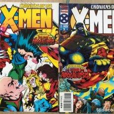 Cómics: CRÓNICAS DE LOS X-MEN (1 Y 2). Lote 171606608