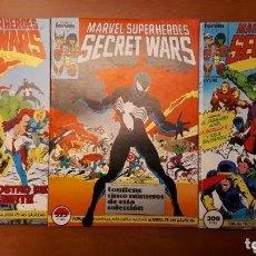 Cómics: SECRET WARS I Y II DEL 1 AL 50 COMPLETA . Lote 171638243