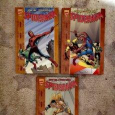 Cómics: SPIDERMAN STAN LEE Y STEVE DITKO FORUM ¡¡¡NUEVOS!!!. Lote 171644505