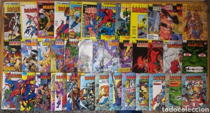 CLASICOS MARVEL CASI COMPLETA FALTA EL 30 MAS 6 ESPECIALES Y DOS RETAPADOS ESPECIALES (Tebeos y Comics - Forum - Otros Forum)
