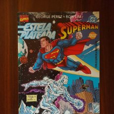 Cómics: ESTELA PLATEADA / SUPERMAN GEORGE PÉREZ ROM LIM ¡IMPECABLE!. Lote 171676319