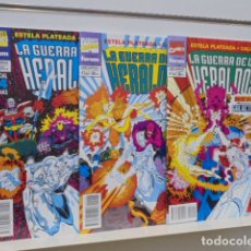 Cómics: LA GUERRA DE LOS HERALDOS ESTELA PLATEADA Y GALACTUS COMPLETA 3 NUMEROS - FORUM - . Lote 171705404
