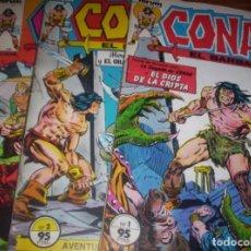 Cómics: CONAN EL BARBARO - LOTE E3L 1 AL 6 - FORUM 1ª EDICION. Lote 171730415