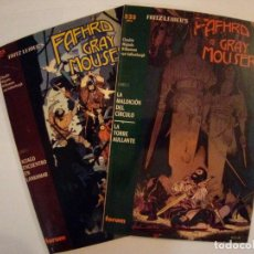 Cómics: FAFHRD AND THE GRAY MOUSER RATONERO GRIS Nº 1 Y 2. Lote 171841012
