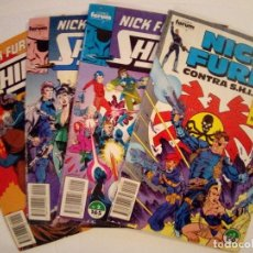 Cómics: LOTE DE 4 COMICS NICK FURIA VER FOTOS. Lote 171841124