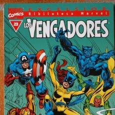 Cómics: BIBLIOTECA MARVEL LOS VENGADORES NÚM. 23, B/N. Lote 183357555