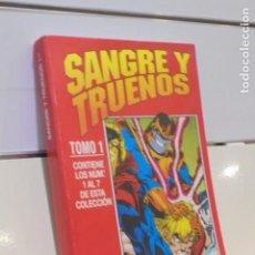 Cómics: RETAPADO SANGRE Y TRUENOS TOMO 1 CONTIENE LOS Nº 1-2-3-4-5-6 Y 7 DE LA COLECCION - FORUM. Lote 172104177