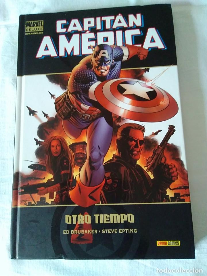 Cómics: 8-CAPITAN AMERICA, MARVEL DELUXE, Otro tiempo - Foto 2 - 172115578
