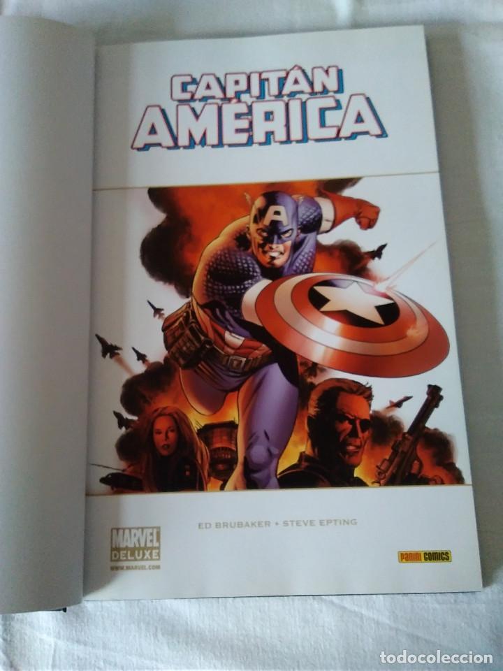 Cómics: 8-CAPITAN AMERICA, MARVEL DELUXE, Otro tiempo - Foto 3 - 172115578