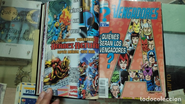Cómics: LOS VENGADORES ( 5 TOMOS COLECCION COMPLETA ) - Foto 8 - 103483775