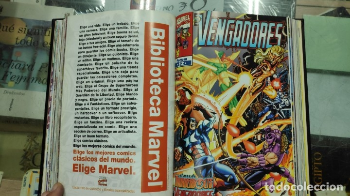Cómics: LOS VENGADORES ( 5 TOMOS COLECCION COMPLETA ) - Foto 17 - 103483775