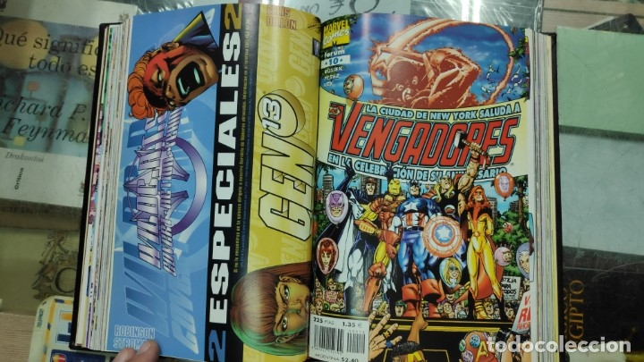 Cómics: LOS VENGADORES ( 5 TOMOS COLECCION COMPLETA ) - Foto 19 - 103483775