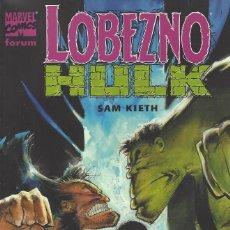 Comics : LOBEZNO HULK: HISTORIA DE PO - SAM KIETH: FORUM - PRECINTADO A ESTRENAR. Lote 252688505