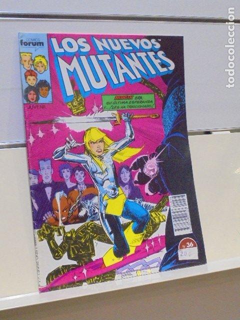 LOS NUEVOS MUTANTES Nº 36 - FORUM - (Tebeos y Comics - Forum - Otros Forum)