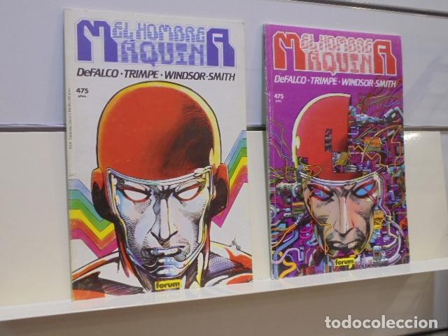 EL HOMBRE MAQUINA COMPLETA 2 TOMOS - FORUM - OCASION (Tebeos y Comics - Forum - Otros Forum)