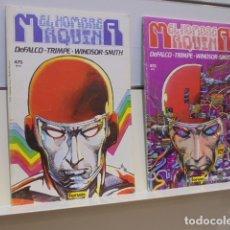Cómics: EL HOMBRE MAQUINA COMPLETA 2 TOMOS - FORUM - OCASION. Lote 172179935